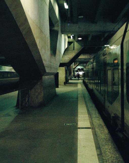 Bétonnage des lignes du métro